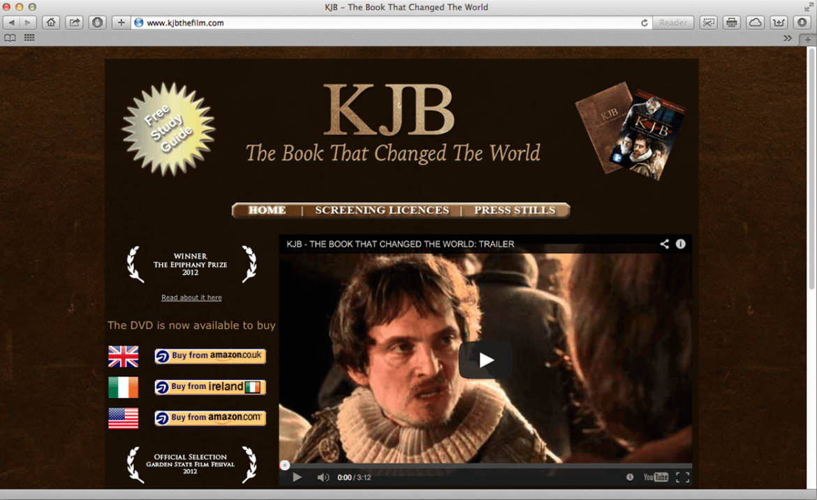 KJB – The Book that Changed the World