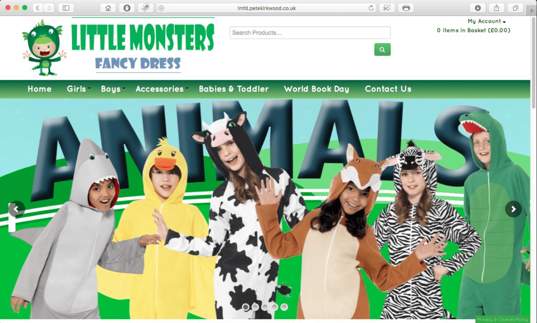 Little Monsters Fancy Dress