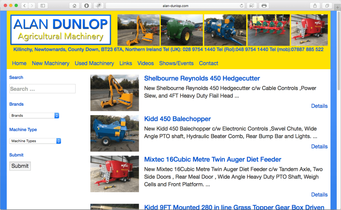Alan Dunlop Agricultural Machinery