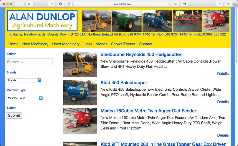 Alan Dunlop Agricultural Machinery